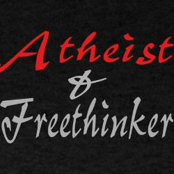 Atheist and Freethinker shirt