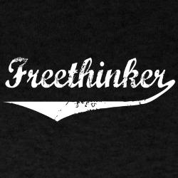 Freethinker athletic shirt